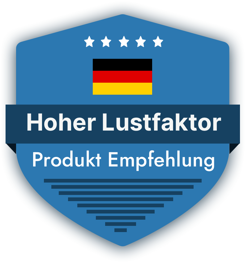 Badge in Blau