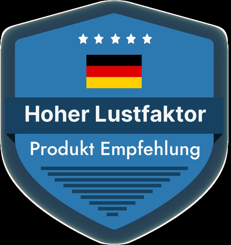 Badge in Blau